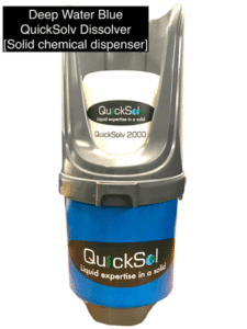 QuickSolv Dissolver - Our Solid Chemical Dispenser